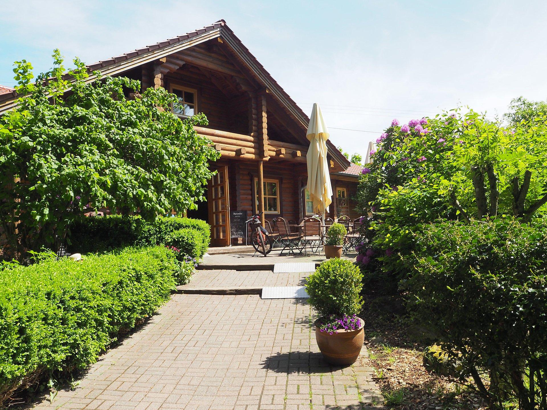 Dapprich farmyard café in Seck, Westerwald