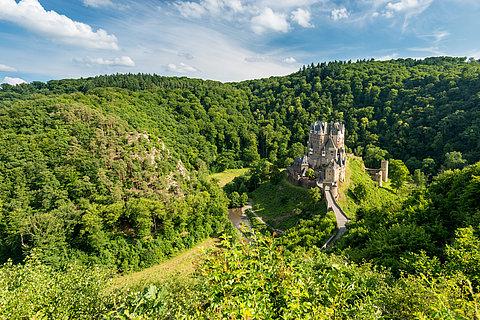80 châteaux et palais mythiques de Rhénanie-Palatinat