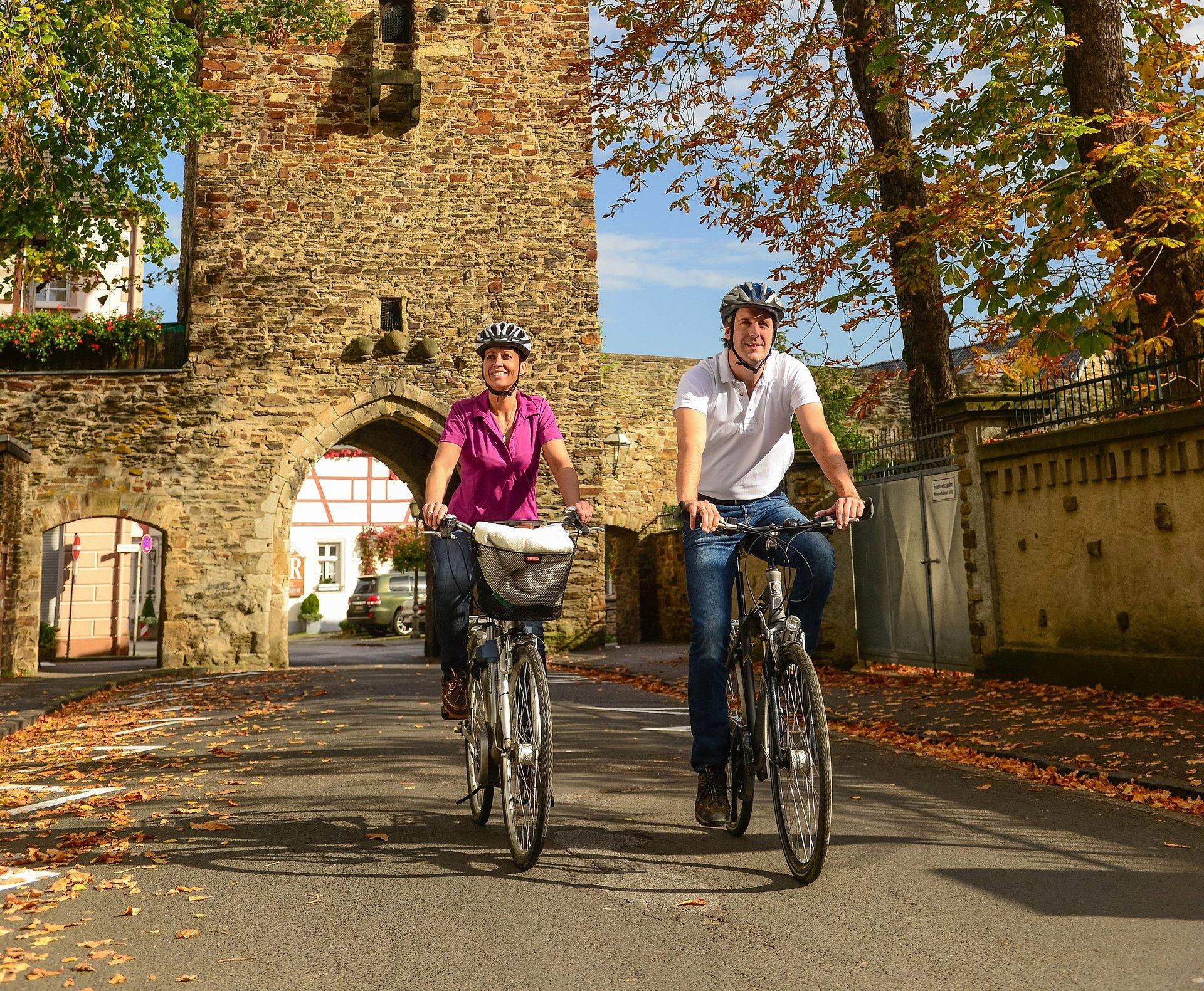 Radtour bei Bad Neuenahr-Ahrweiler, Ahrtal