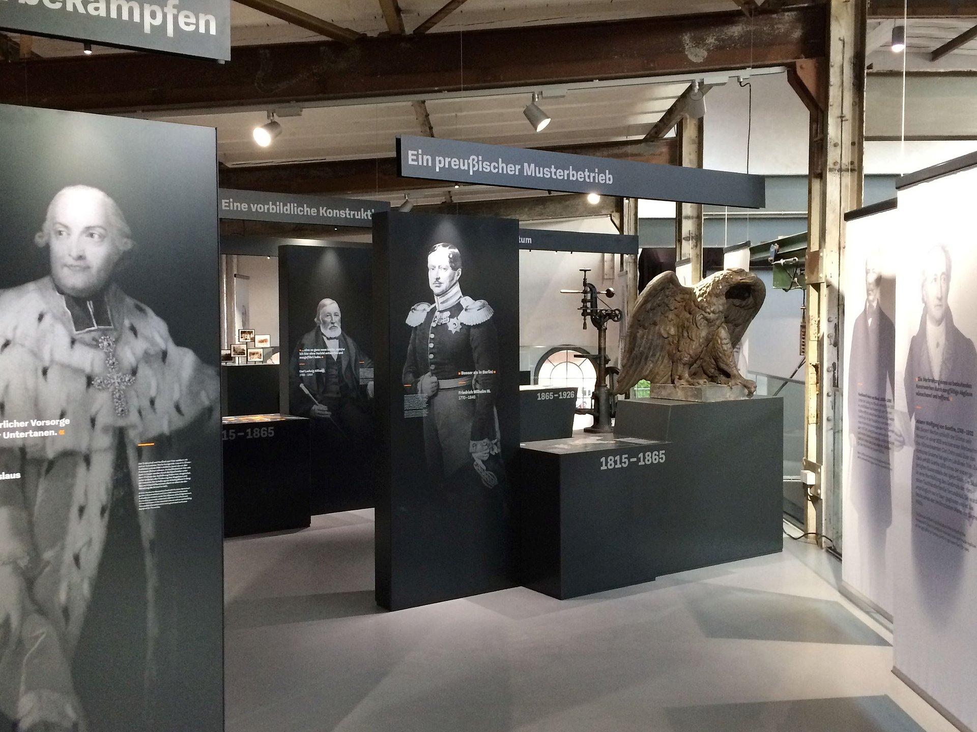 Dauerausstellung in der Krupp'schen Halle, Romantischer Rhein