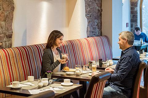 Ontbijt in een hotel