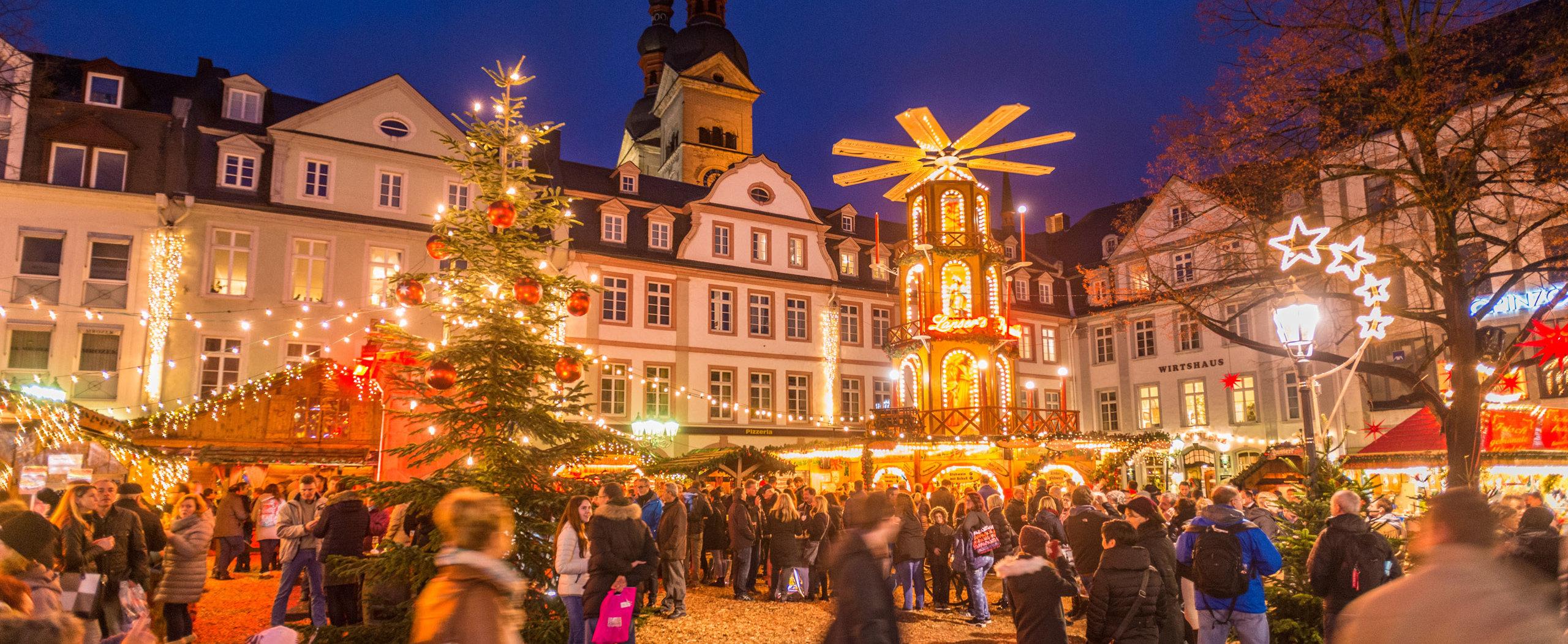 Weihnachtsmarkt in Koblenz, Romantischer Rhein