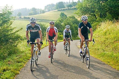 Op pad met een racefiets in Rijnland-Palts