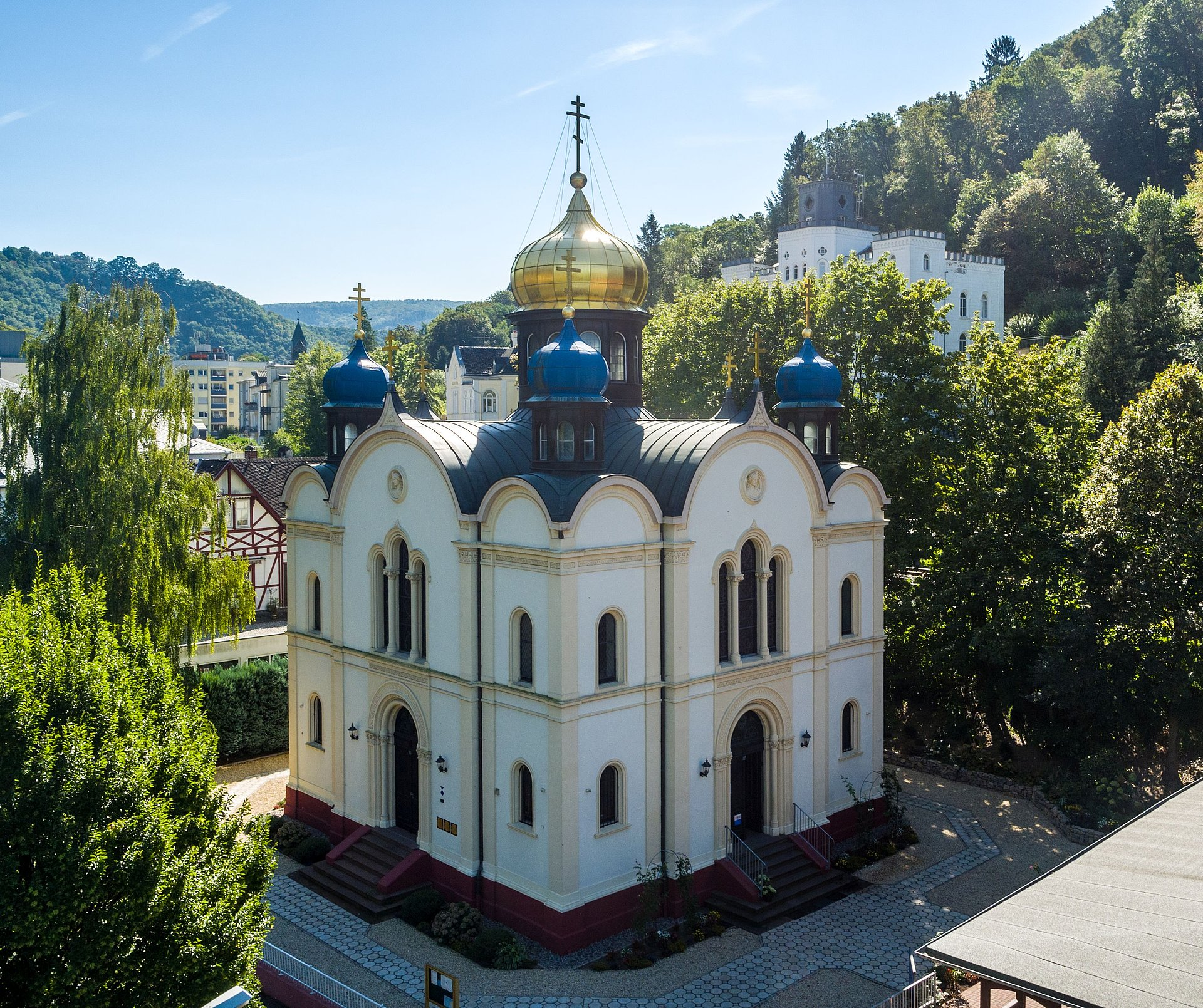 Russisch-Orthodoxe Kirche Bad Ems, Lahntal