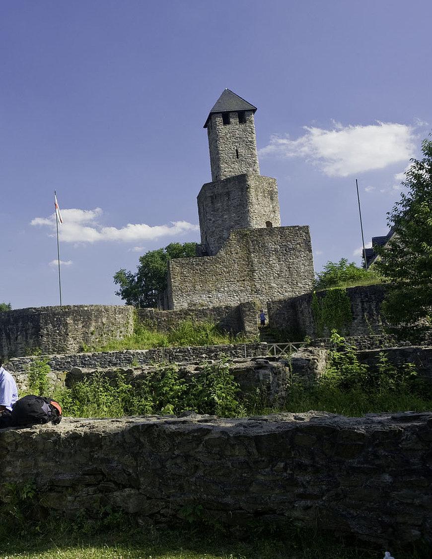 Grimburg Castle, Hunsrück
