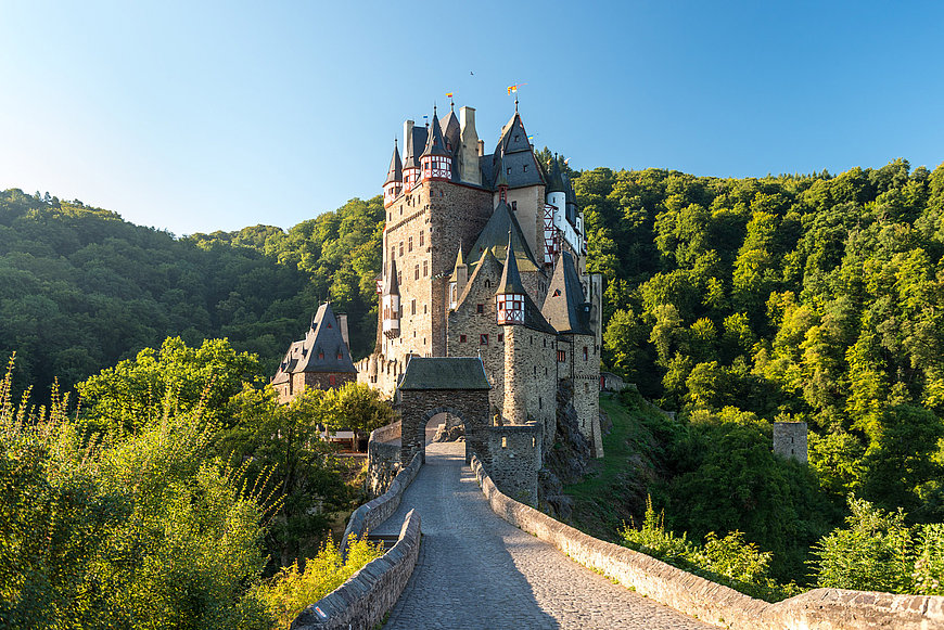 Eltz Castle at Wierschem, Eifel
