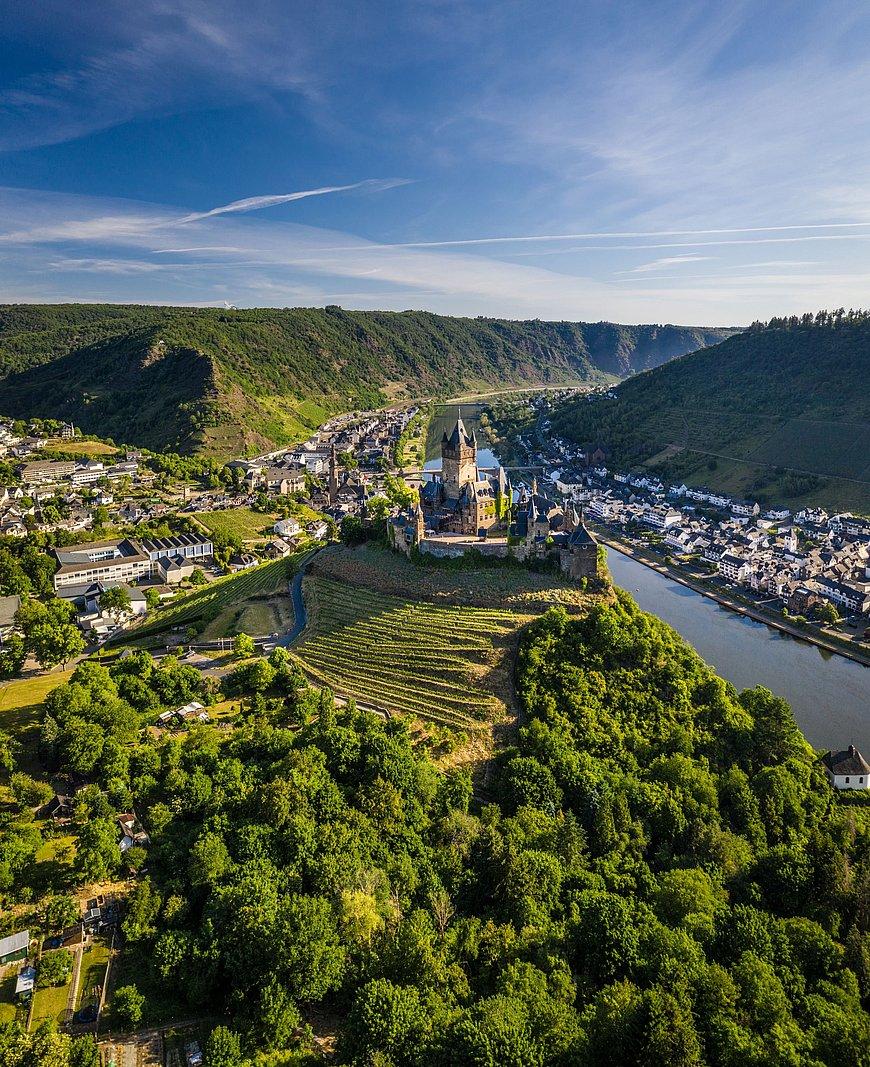 Reichsburg Cochem über Cochem, Mosel