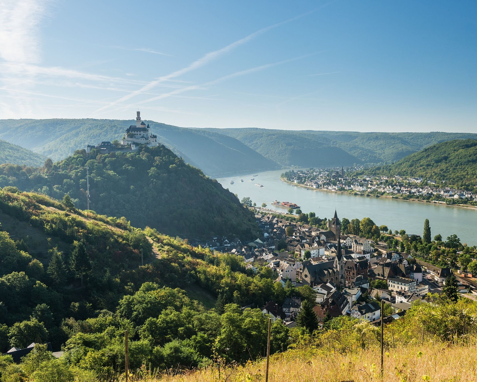 Marksburg at Braubach, Romantic Rhine