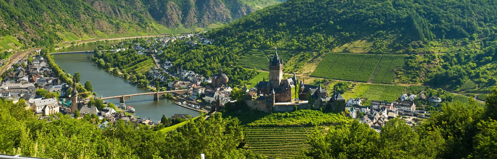 Reichsburg Castle in Cochem, Moselle