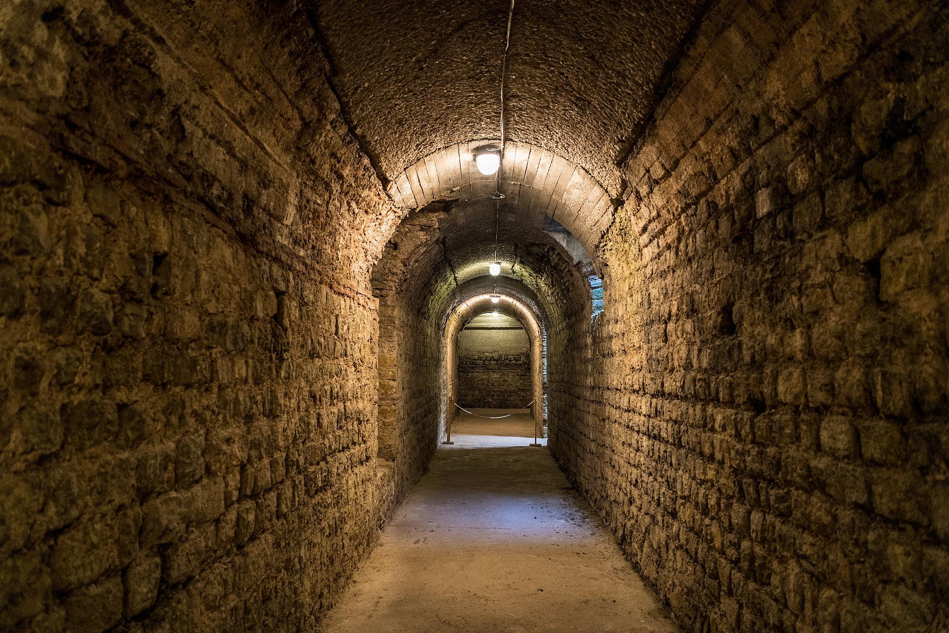 Kaiserthermen unterirdisch entdecken in Trier, Mosel