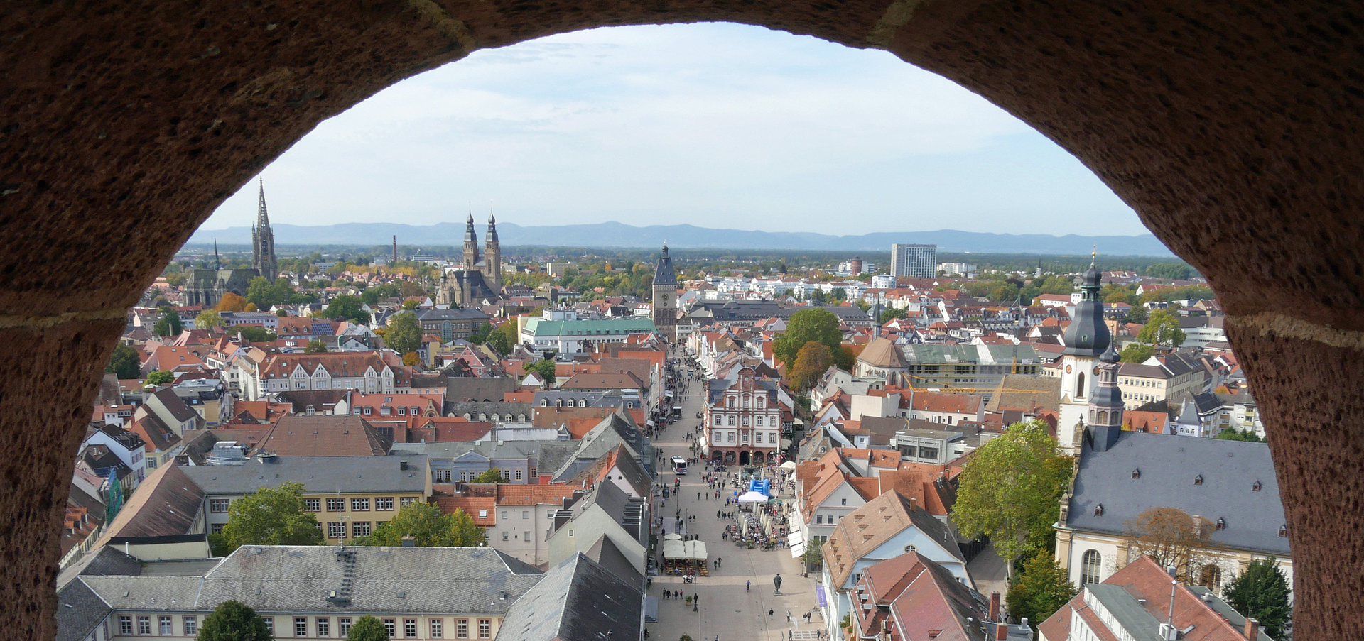 Dom-Stadt Speyer, Pfalz