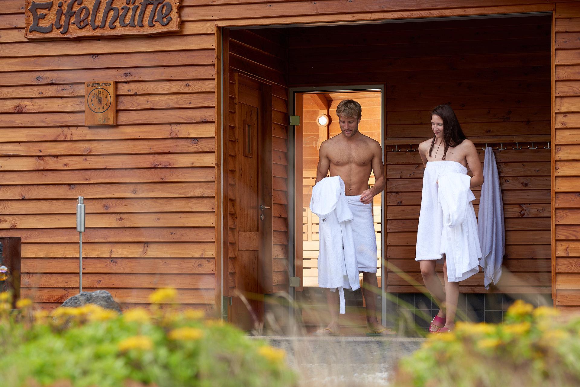 Saunabezoek in de Vulkaaneifel Therme Bad Bertrich, Eifel