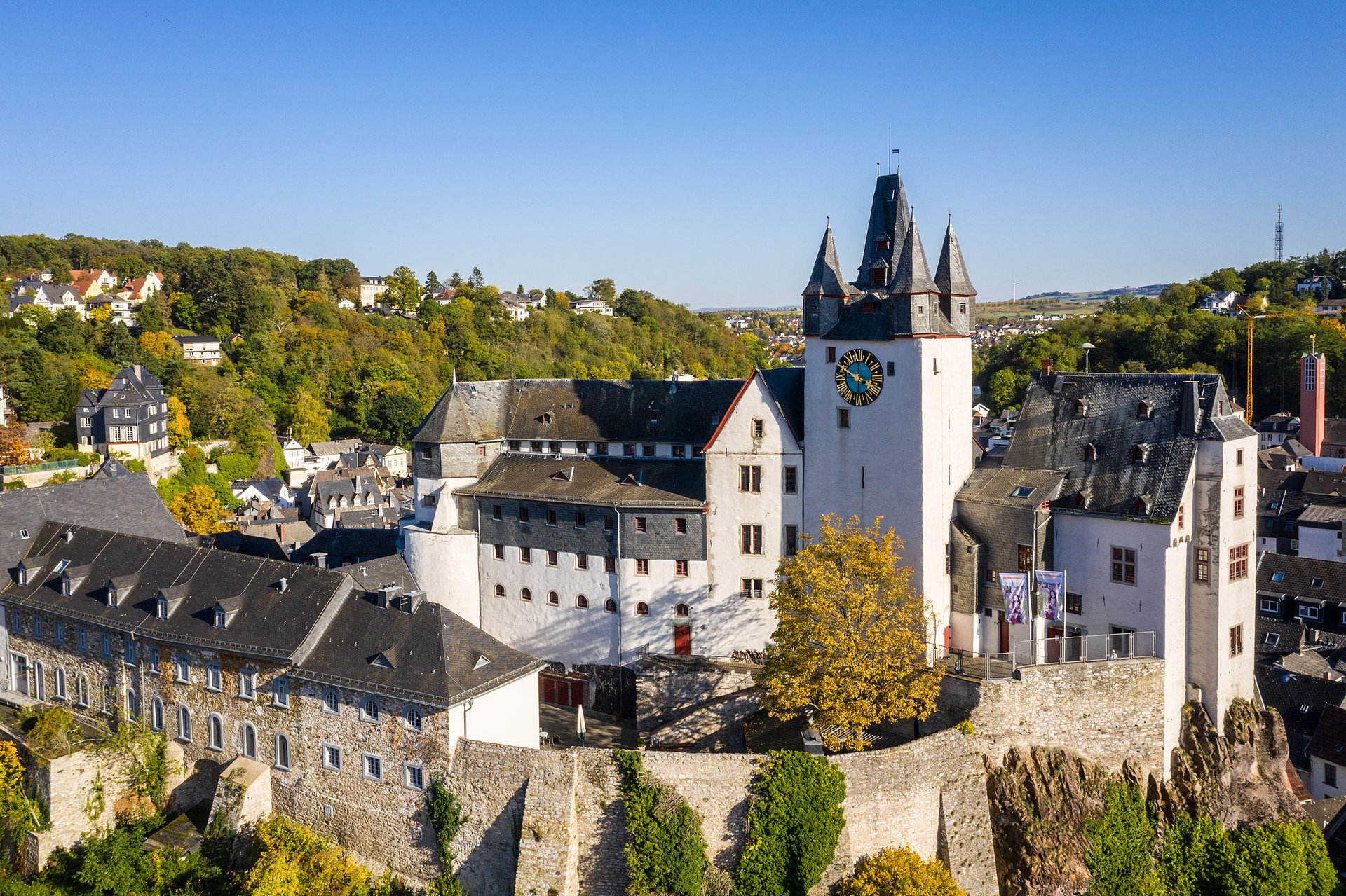 Grafenschloss Diez, Lahntal