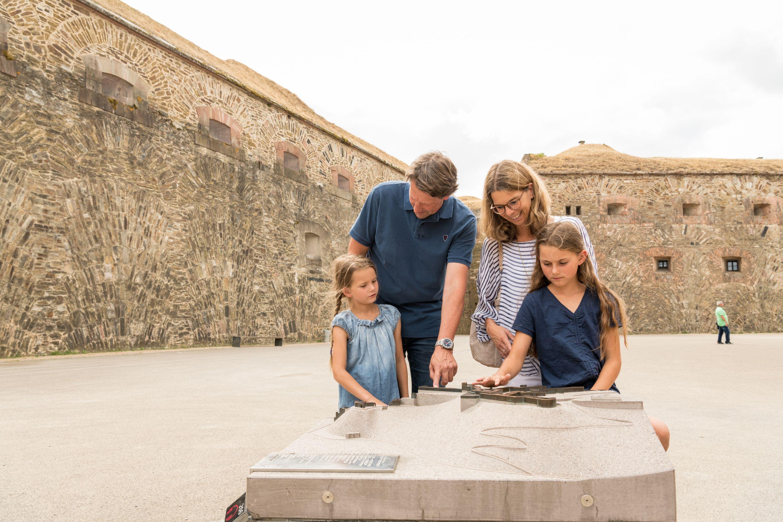 Bezoek op de vesting Ehrenbreitstein Koblenz met de familie, Romantische Rijn