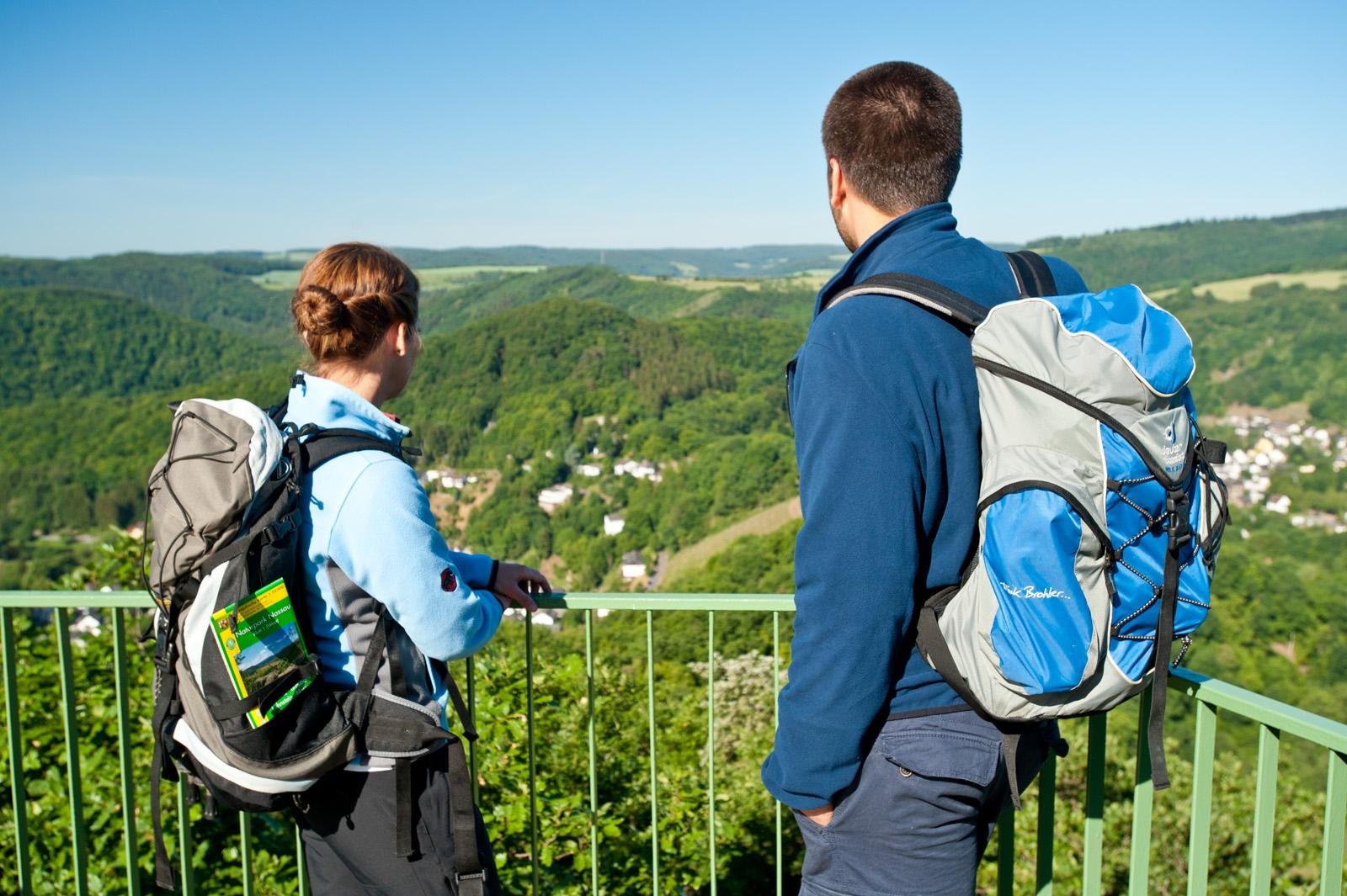 Goethepunkt am Lahnwanderweg Obernhof, Lahntal