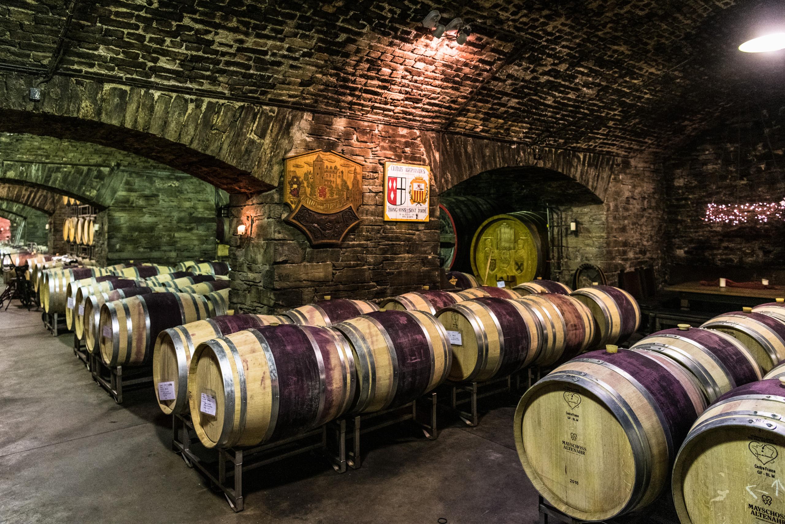 Wijnkelder van de wijnbouwcoöperatie Mayschoß, Ahrdal