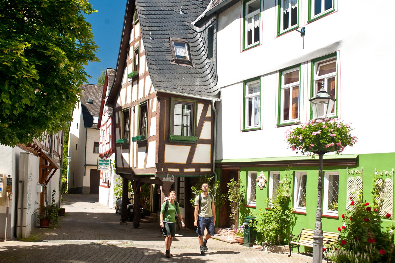 Historische Altstadt von Diez, Lahntal