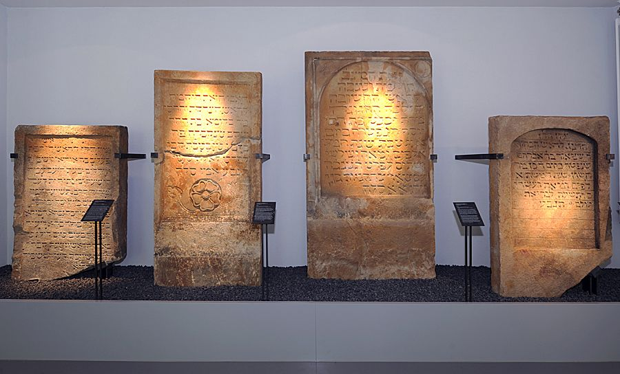 Exponate im Museum SchPira Speyer, Pfalz