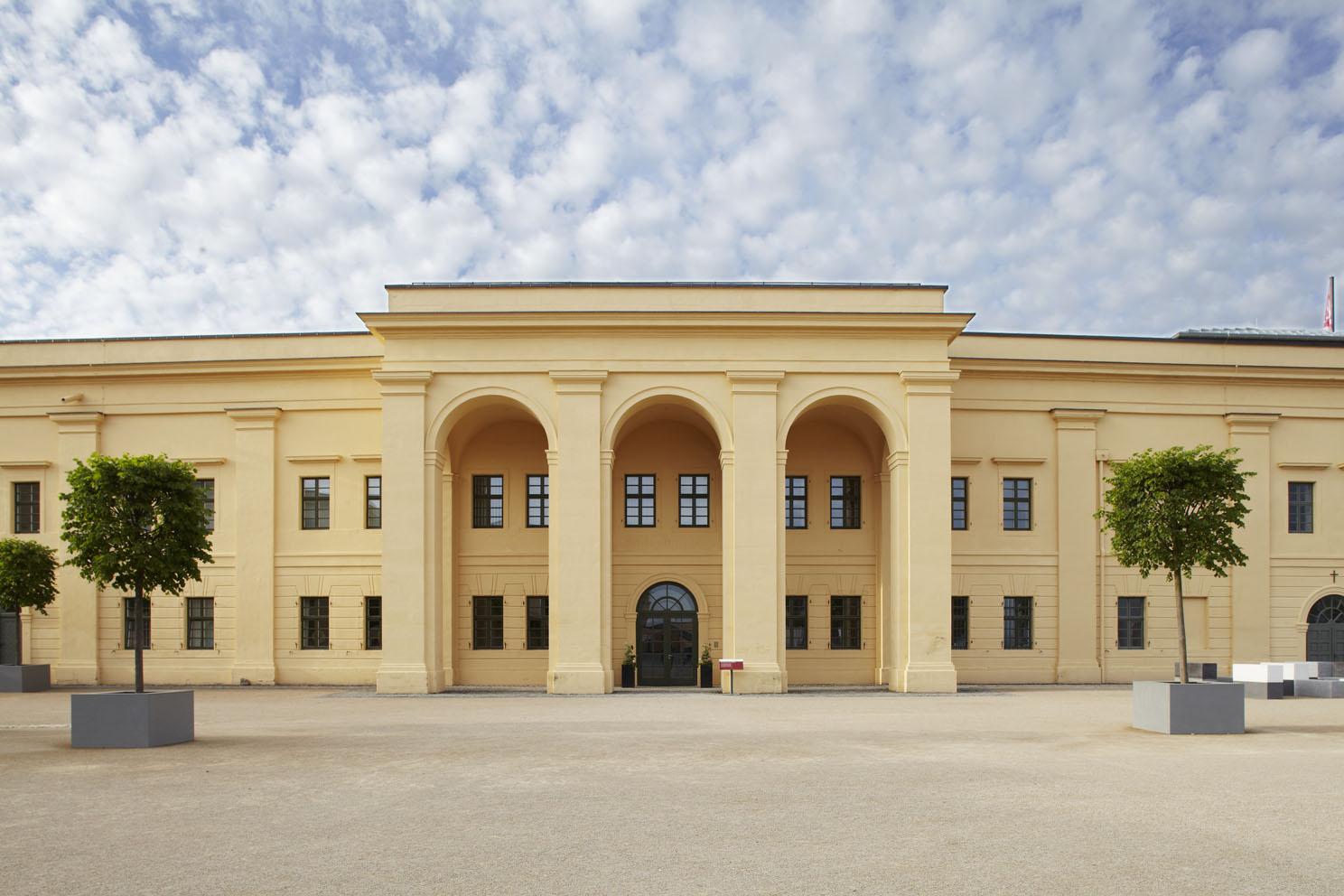 Eingang Landesmuseum Koblenz bei der Festung Ehrenbreitstein Koblenz, Romantischer Rhein