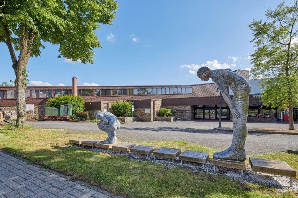 Het keramiekmuseum in Höhr-Grenzhausen, Westerwald