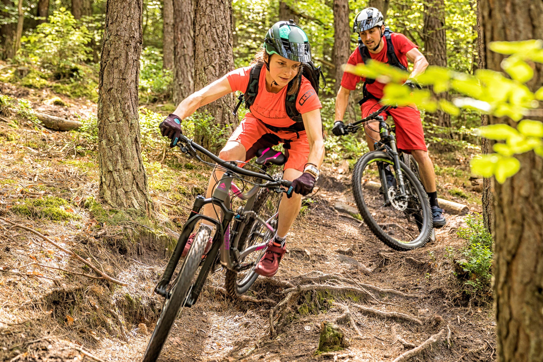 Avontuurlijke mountainbikeroutes in het Mountainbikepark Pfälzerwald, Palts