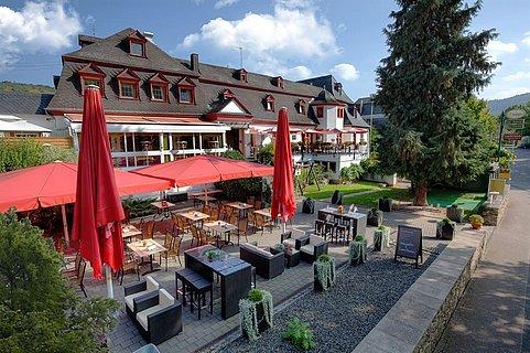 Hotel und Biergarten