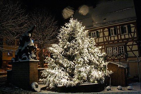 Weihnachtsstimmung in Dahn