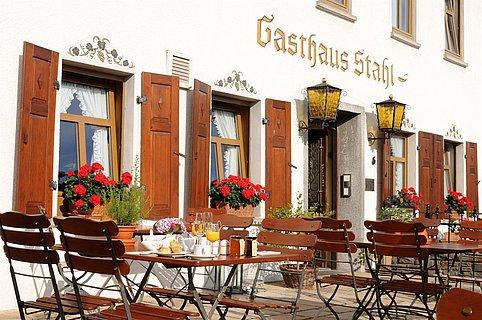 Gasthaus-Weingut Stahl, Aussenansicht