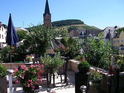 Sitzecke im Garten (Parterre)