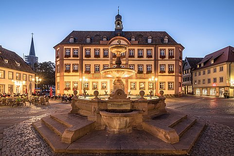 Marktplatz am Abend © Jochen Heim