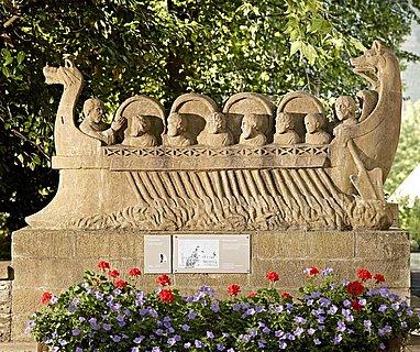 Weinschiff-Denkmal