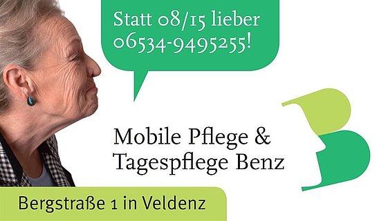 Mobile Pflege in Veldenz