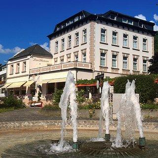 """Hausansicht Hotel """" Zwei Mohren"""""""