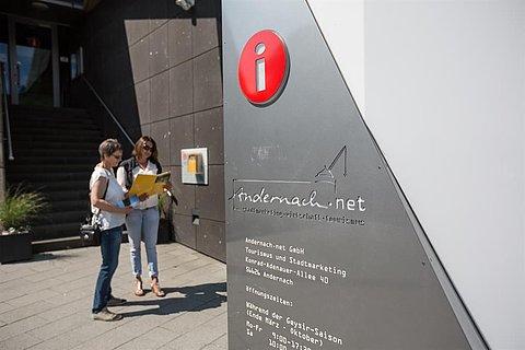 Tourist-Information im Geysir Erlebniszentrum