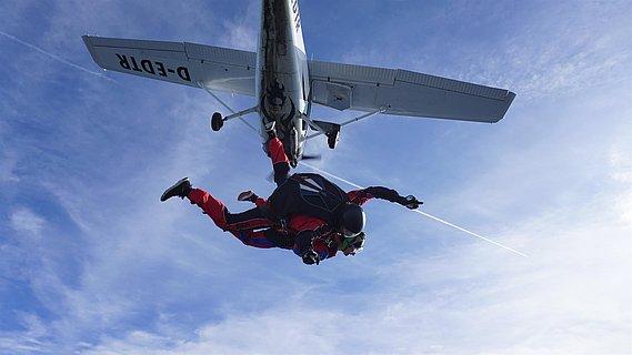 Fallschirmspringen - Tandemsprung