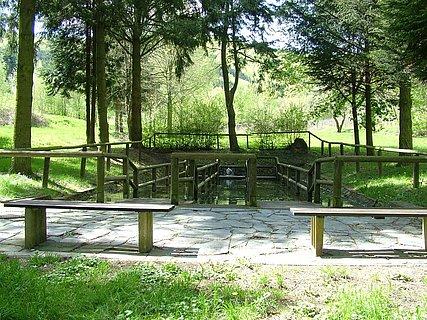 Wassertretbecken in Kesten