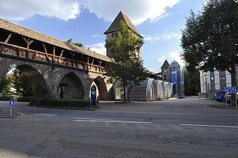 Nibelungenmuseum außen