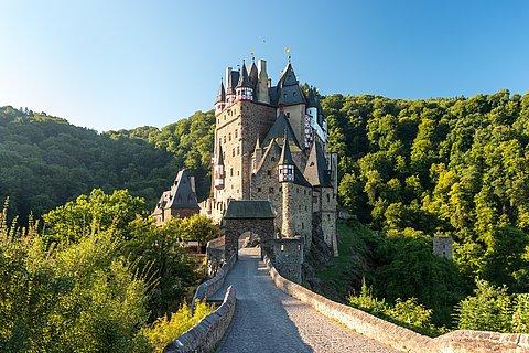 Weg zur Burg Eltz