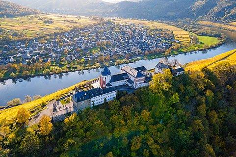 Drohnenaufnahme Marienburg