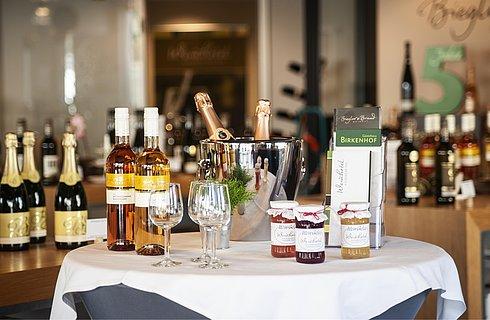 Weinladen im Weinhotel Kaisergarten