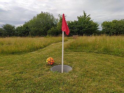 Fußballgolfanlage