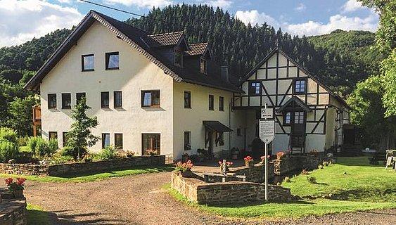 Ferienwohnugn Hahnensteiner Mühle im vorderen Haus