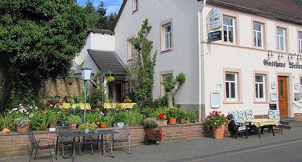 Gasthaus mit Terrasse
