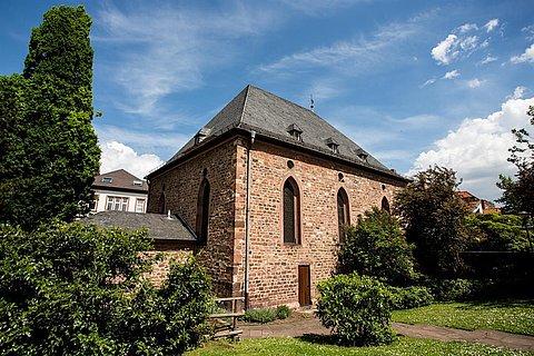 Synagoge Worms Außenansicht