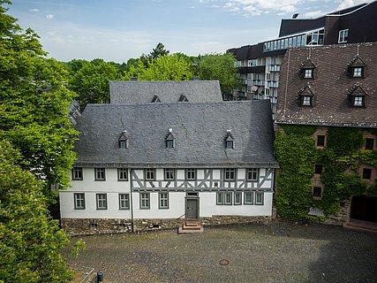 Luftansicht Lottehaus