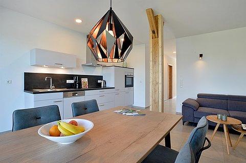 Moderner Wohnbereich Ferienwohnung 1