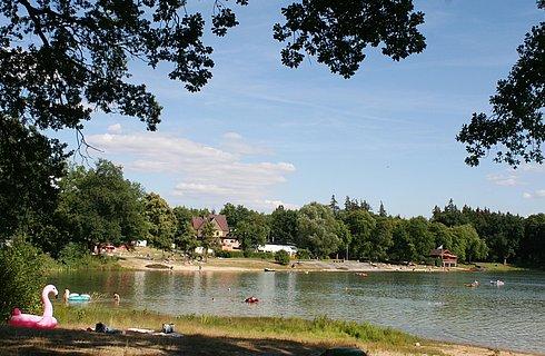 Sommer am Herthasee