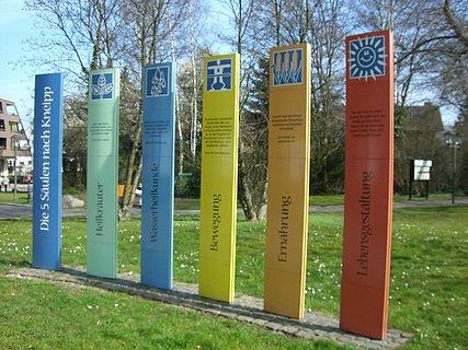 Kneipp-Säulen