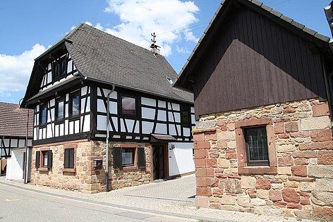 Haus seitlich