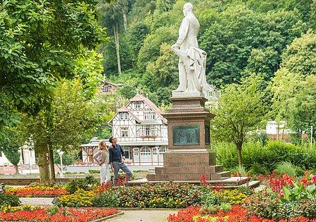 Kaiser Wilhelm Denkmal im Kurpark
